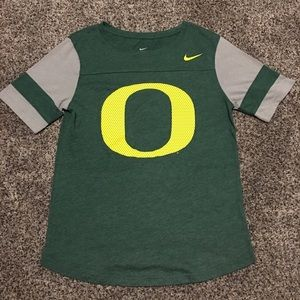 Women's Nike Oregon Ducks T Shirt size Medium